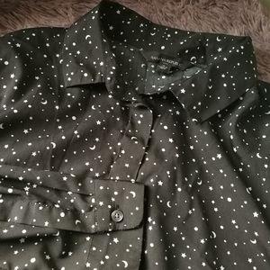 Banana Republic stars and moons blouse